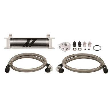 10-Row Universal Oil Cooler Kit - By Mishimoto