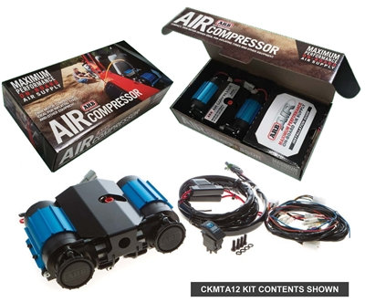 On-Board High Performance 12 Volt Twin Air Compressor (CKMTA12) - By ARB
