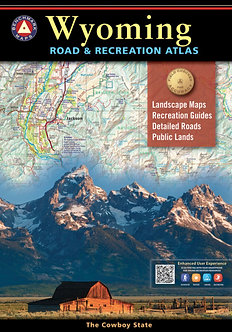Wyoming Road & Recreation Atlas - By Benchmark