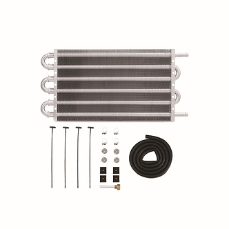 """Universal Transmission Fluid Cooler, 12"""" x 7.5"""" x 0.75"""" - By Mishimoto"""