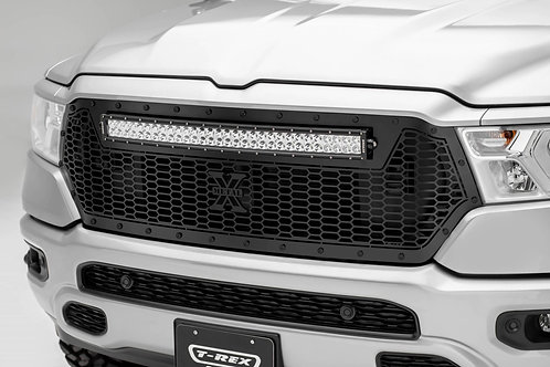 """2019-2021 Ram 1500 Stealth Laser Torch Grille Replacement w/(1) 30"""" LED"""