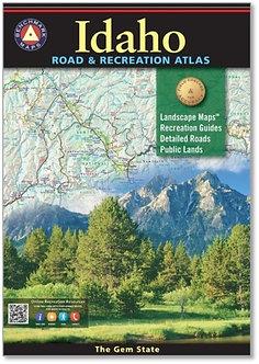 Idaho Road & Recreation Atlas - By Benchmark