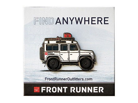 Special Edition Front Runner Pin / Land Rover Defender