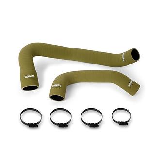 Silicone O.D. Green Coolant Hose Kit - Jeep Wrangler TJ 4.0L (97-06)