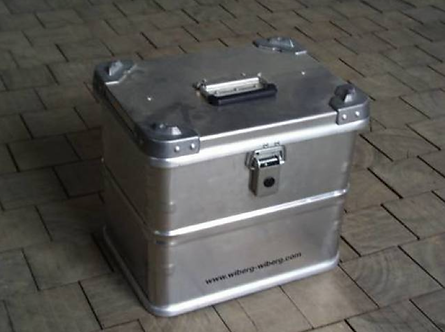 Alu-Box 29 Liter Aluminum Storage Case ABA29