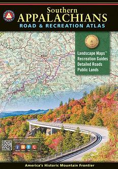 Southern Appalachians Road & Recreation Atlas - By Benchmark