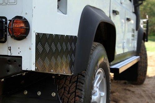 Land Rover Defender 90 (1983-2016) Sill Protector - BLACK