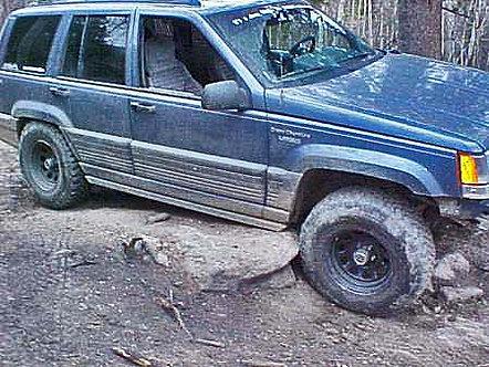 Jeep Grand Cherokee ZJ Rock Sliders (93-98)