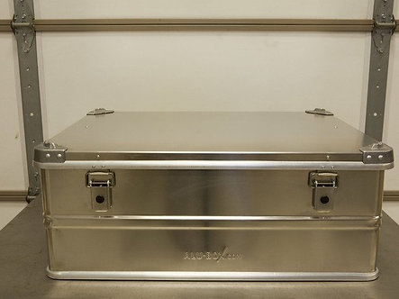 Alu-Box 120 Liter Aluminum Storage Case ABS120