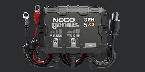GEN5X2  12V 2-Bank, 10-Amp On-Board Battery Charger