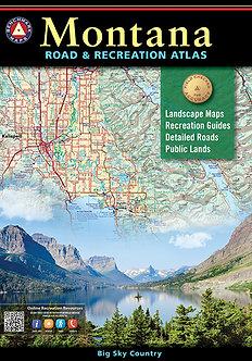 Montana Road & Recreation Atlas - By Benchmark