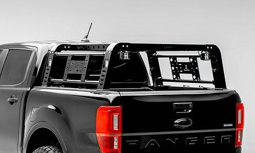 """2019-2020 Ford Ranger Overland Rack  w/4  3"""" Inch ZROADZ LED Pod Lights"""