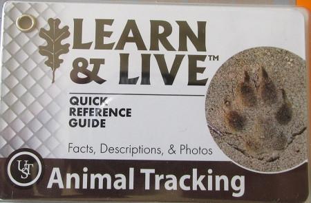 Animal Tracking Cards