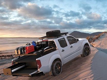 Nissan Frontier Pick-Up Truck (1997-Current) Slimline II Load Bed Rack Kit