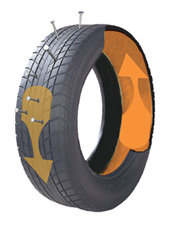 Ride-On® Auto Formula tire sealant