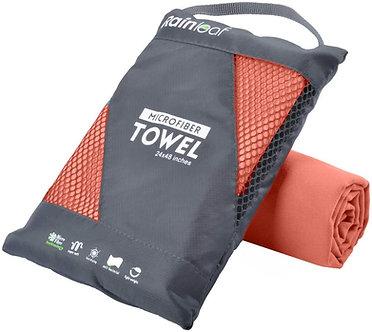 Microfiber Towels - Brick Red