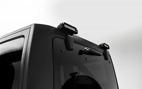 07-17 Jeep JK/JKU Rear Window Kit,  w/2 - 6in LED SRS Light Bars