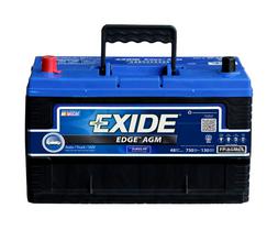 EXIDE EDGE FLAT-PLATE AGM