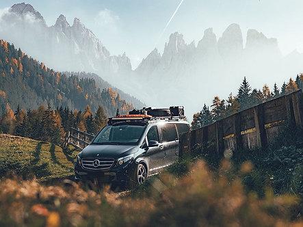 Mercedes Benz V-Class XLWB (2014-Current) SLIMLINE II Roof Rack Kit