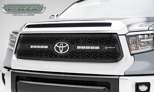 2018-2021 Tundra ZROADZ Grille, Black, 1 Pc, Replacement with (2) 10 LEDs