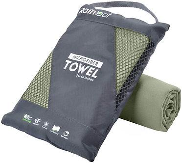 Microfiber Towels - Army Green