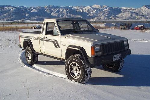 Jeep Comanche MJ (86-92) - Rock Sliders