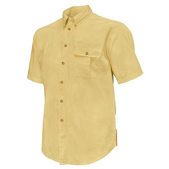 TM Shooting SS Shirt - Pale Yellow