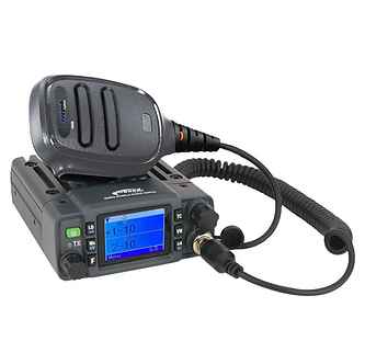 GMR25 Waterproof GMRS Band Mobile Radio with Antenna