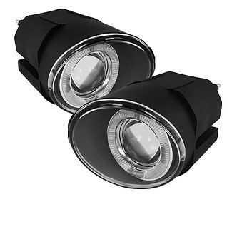 Projector Fog Lights w/Halo & Switch - Nissan