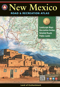 New Mexico Road & Recreation Atlas - By Benchmark