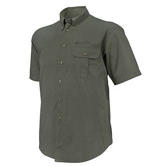 TM Shooting SS Shirt - Olive Green