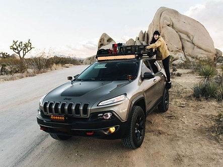 Jeep Cherokee KL (2014-Current) Slimline II Roof Rail Rack Kit - by Front Runner