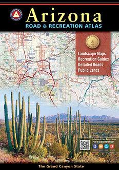 Arizona Road & Recreation Atlas - By Benchmark