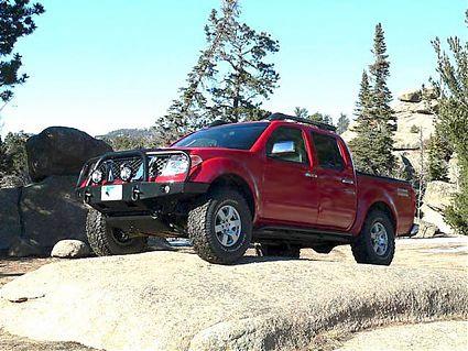 05-17 Frontier Front Bumper; Gen2