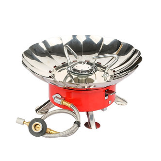 Etekcity E-gear Portable Collapsible Windproof Backpacking Gas Camping Stove
