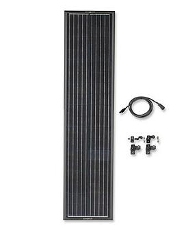 OBSIDIAN SERIES 90 Watt (Long) Solar Panel Kit