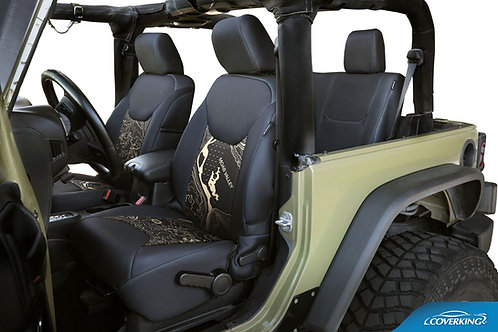 Jeep® Topographic Custom Seat Covers