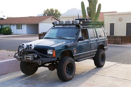 Snorkel Kit Jeep Cherokee Sport XJ (84-01)