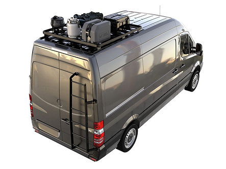 Mercedes Benz Sprinter (2006-Current) Slimline II 1/4 Roof Rack Kit