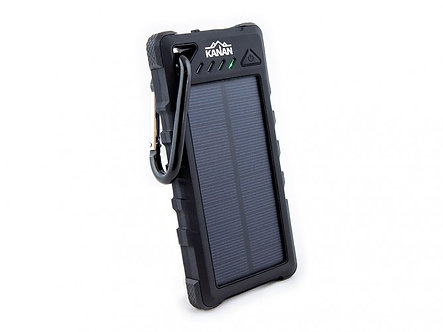 Weatherproof Solar Power Bank / Dual USB / 16 000 mAh