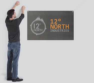 12° North Shop Banner