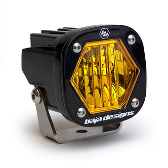 S1 LED Pods - Amber Wide Cornering