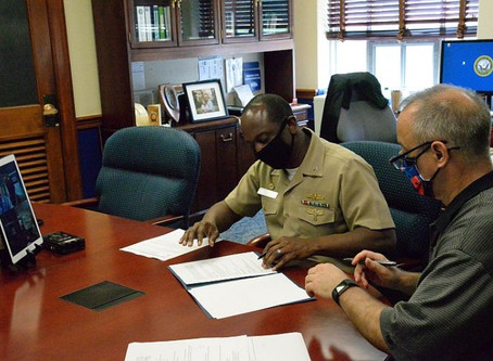UDC signs Education Partnership Agreement with NSWC Carderock