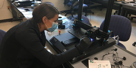 Professor Implements 3D Printing Initiative and Accelerates Kentucky's 3D Printing Capabilities
