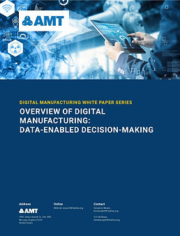 Digital Manufacturing Data-Enabled Decis