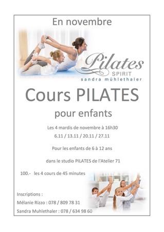 Pilates pour enfants