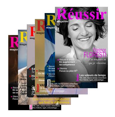 Abonnement Réussir Magazine 1 an