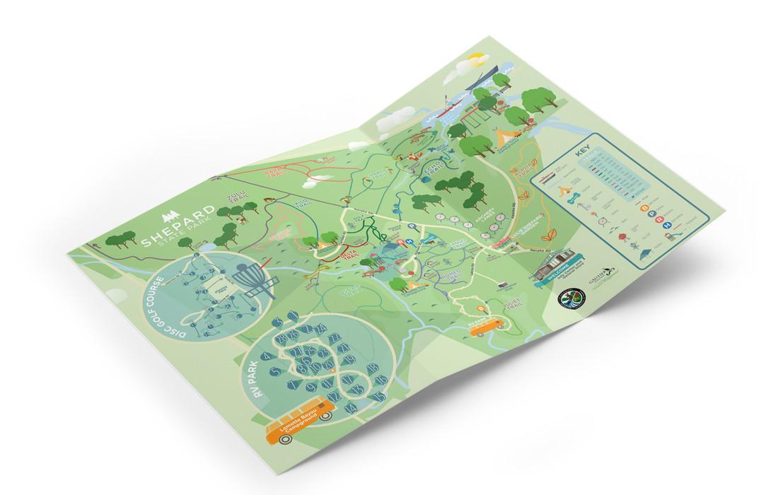 Shepard State Park Brochure