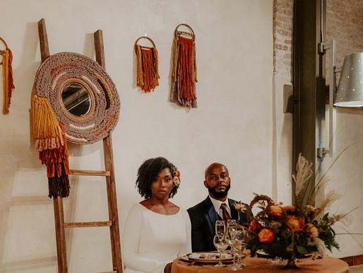 Dreamy Hand Woven Rattan Mirror - Wedding Decor