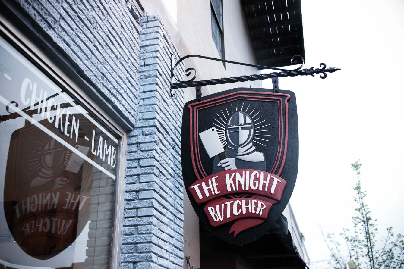 Knight Butcher Signage